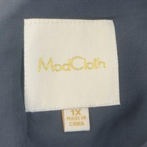 Modcloth Dresses - Modcloth 1X Galaxy Short Sleeve Shirt Dress